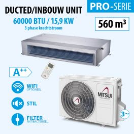 DUCTED 60000BTU (3PHASE)(A++) 550m3