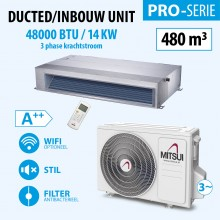 DUCTED 48000BTU (3PHASE)(A++) 480m3