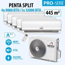 MITSUI PRO PENTA 4X9-/1X12000BTU (A++) 4400m3