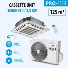 CASSETTE12000BTU (A++) 125m3