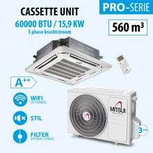 CASSETTE 60000BTU (3PHASE)(A++) 550m3