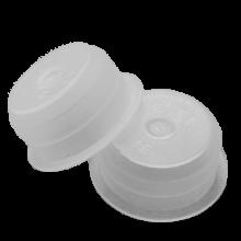 PLASTIC EINDKAP 1/2(10ST)